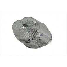 Tail Lamp Lens Laydown Style Clear 33-0251