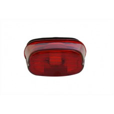 Tail Lamp Lens Laydown Style Red 33-0254