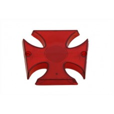 Tail Lamp Lens Maltese Style Red 33-0595