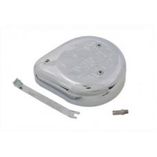 Tear Drop Air Cleaner Kit Chrome Flame 34-0687