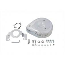 Tear Drop Air Cleaner Kit Smooth Chrome 34-0689