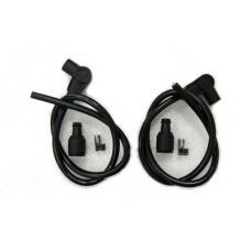 Universal Black 8mm Spark Plug Kit 32-1042