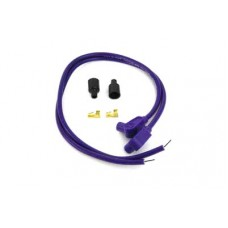 Universal Purple 8mm Pro Spark Plug Wire Kit 32-6381