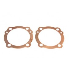 V-Twin Cylinder Head Gaskets Copper 15-0101