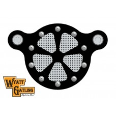 Wyatt Gatling Air Cleaner Kit Black 34-0236