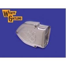 Wyatt Gatling Chrome Air Cleaner Kit 34-0640