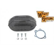 Wyatt Gatling Chrome Turbo Air Cleaner 34-0040