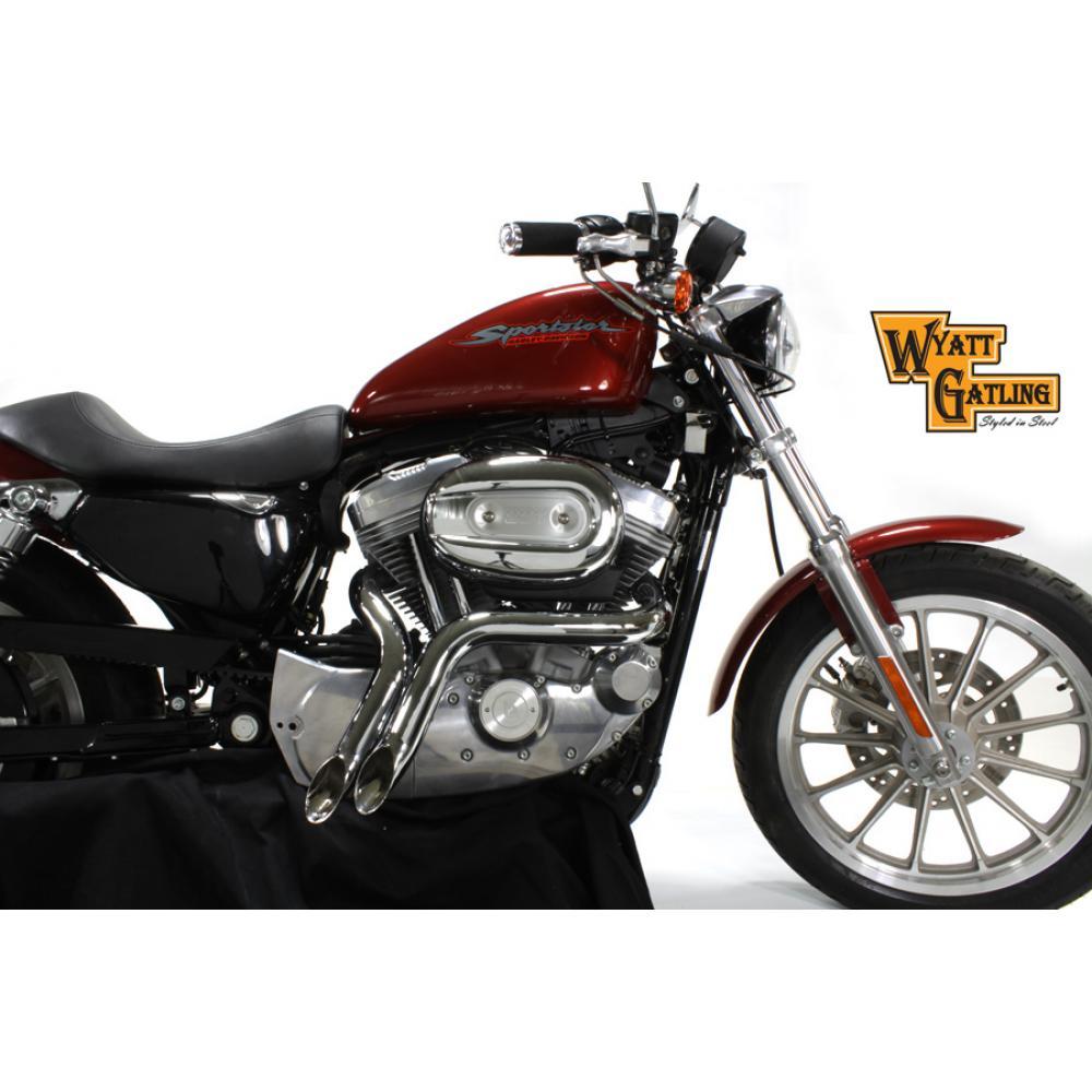 Chrome Front Motor Mount Set,for Harley Davidson,by V-Twin