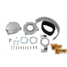 Wyatt Gatling New Era Air Cleaner Kit Chrome 34-0835