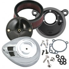 S&S Airstream Stealth Air Cleaner Kit for Harley 170-0063